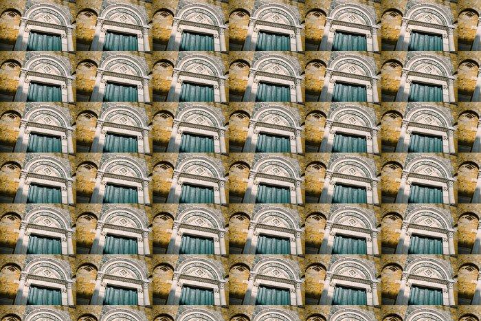 Vinylová Tapeta Duomo di Volterra, Portale - Toscana - Prázdniny