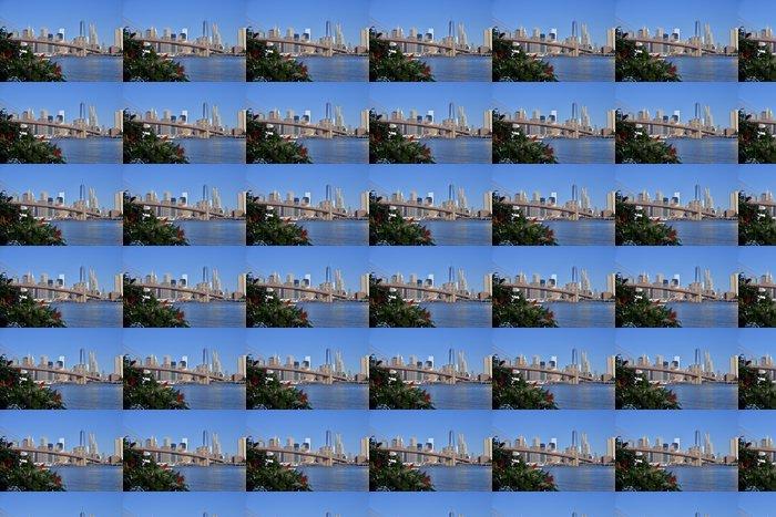 Vinylová Tapeta Slunečný den Ove Manhattan - Americká města