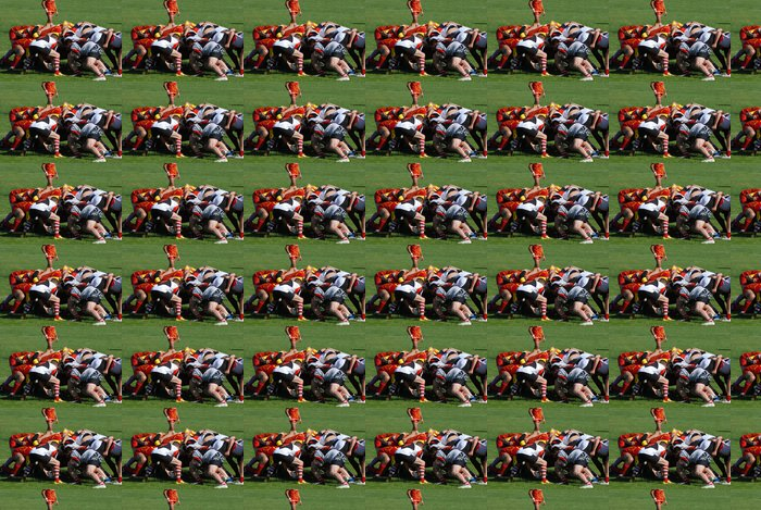 Vinylová Tapeta Hrát rugby melee - Individuální sporty