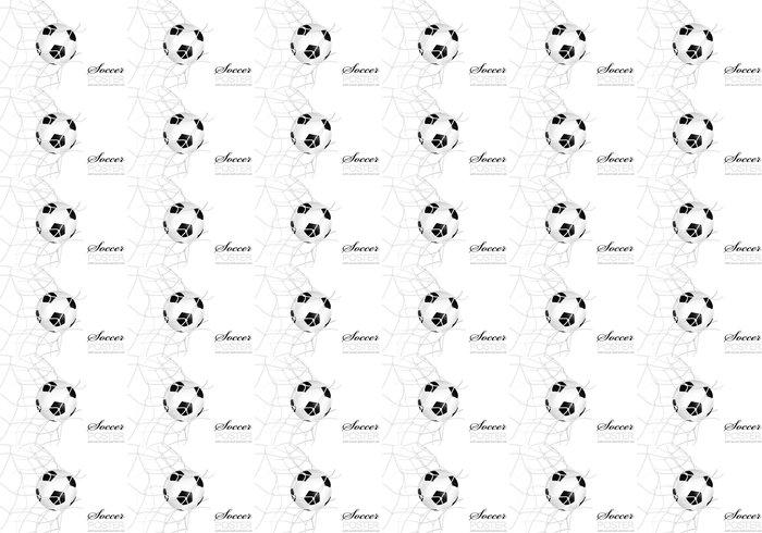 Vinylová Tapeta Fotbalový míč v čisté - Zápasy a soutěže