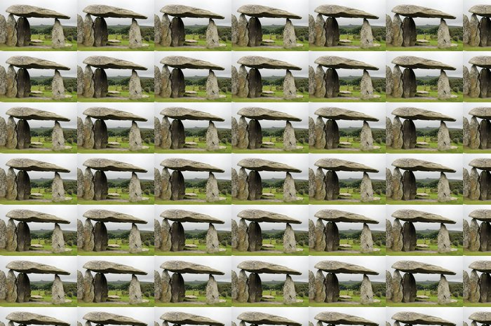 Vinylová Tapeta Pentre Ifan pohřební komoru v Preseli Hills, South Wales - Evropa