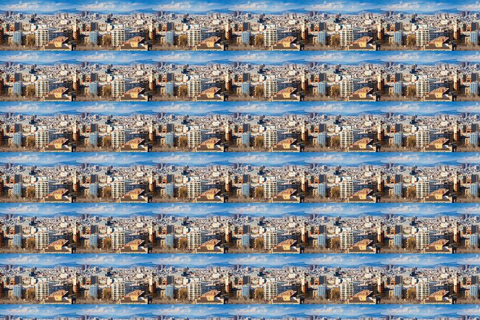 Vinylová Tapeta Barcelona od nejvyššího bodu i - Témata
