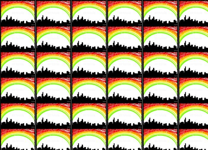 Vinylová Tapeta Rainbow vektor město - Situace v podnikání