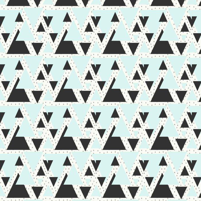 Vinyltapet Abstrakta geometriska mönster - Grafiska resurser