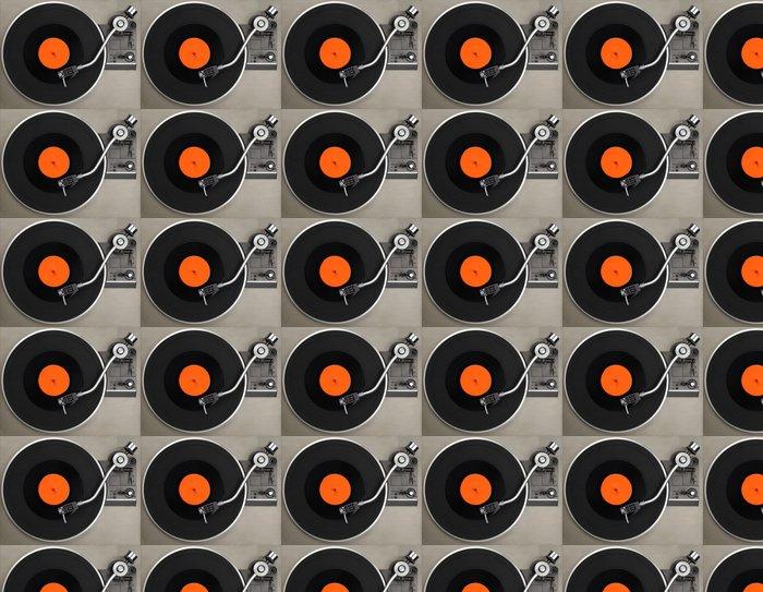 Vinylová Tapeta Gramofon s vinylové desky - Styly