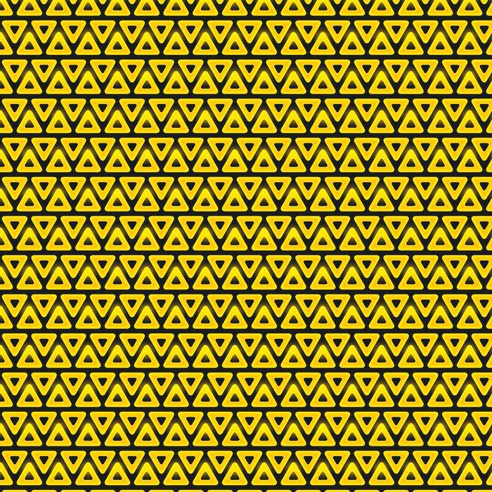 Vinylová Tapeta Retro vzor geometrických tvarů. Bezešvé vzor s - Abstraktní