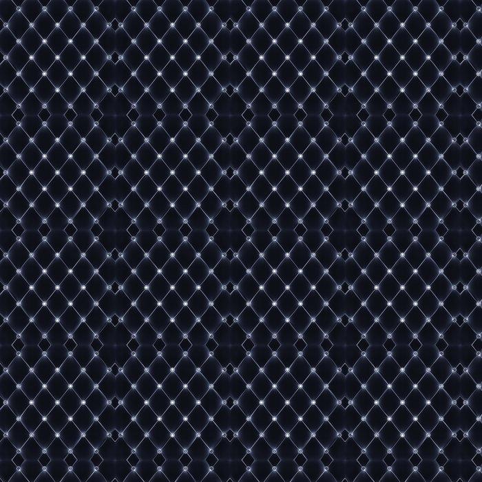 Vinylová Tapeta Velvet čalounění s diamantovými knoflíky - Styly