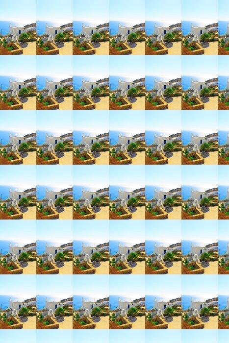 Vinylová Tapeta Krásný výhled na moře na slavný ostrov Santorini Řecko - Evropská města