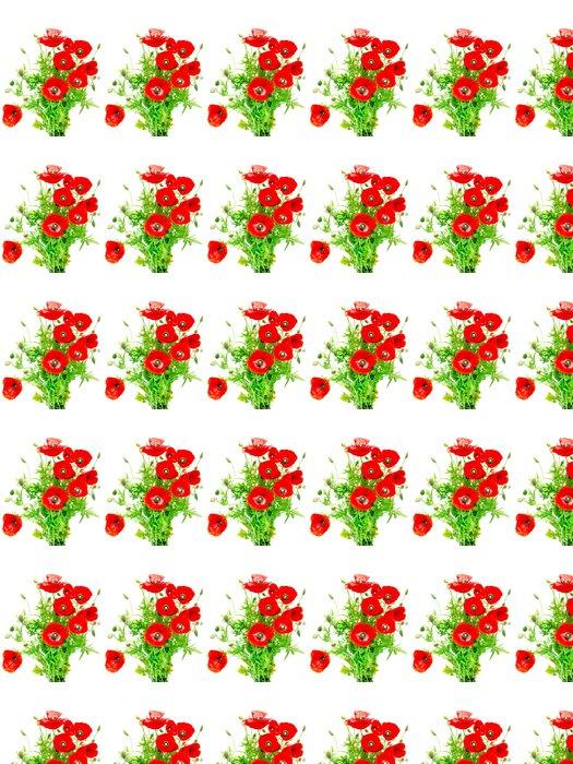 Vinylová Tapeta Red Poppy - Květiny