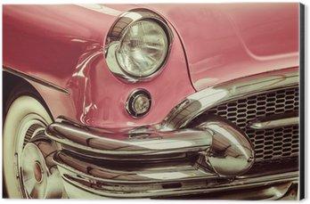 Impressão em Alumínio (Dibond) Retro styled image of a front of a classic car