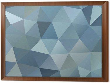 Ingelijst Canvas Abstracte achtergrond