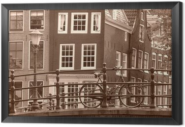 Ingelijst Canvas Amsterdamse