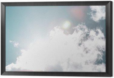 Ingelijst Canvas Blue-sky