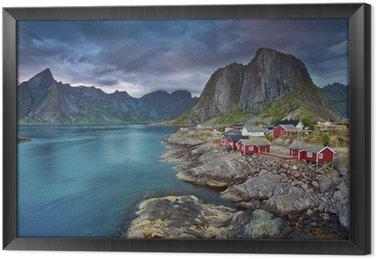 Ingelijst Canvas Norway