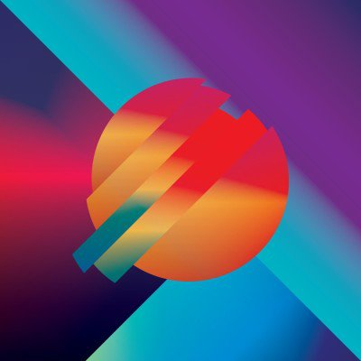 Materiaalikuvio abstrakti vektori tausta geometriset isometriset muodot. eloisa, kirkas, kiiltävä värikäs symboli taustakuvaan. Juliste