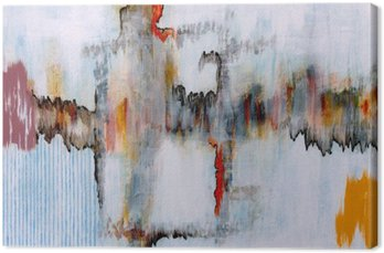 Abstrakti maalaus Kangastuloste