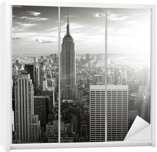 Kaststicker New york skyline