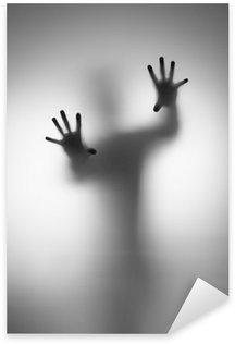 Spøgelser hånd Pixerstick Klistermærke