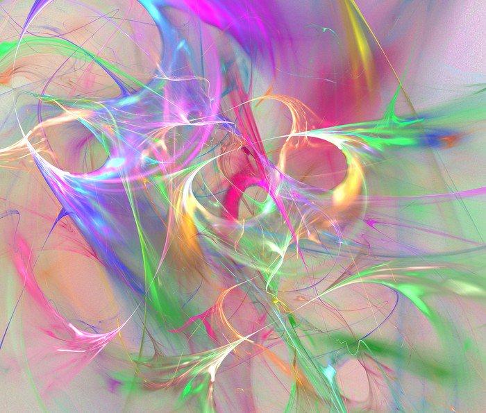 Fototapeta Vinylowa Kolorowe abstrakcyjne tło -