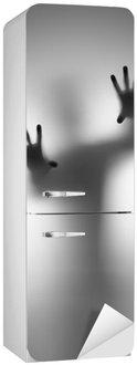 Kühlschrankaufkleber Geister Hand