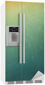 Kühlschrankaufkleber Strukturierter Gradient Hintergrund