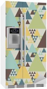 Kylskåpsdekor Abstrakta geometriska mönster # 2