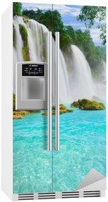 Kylskåpsdekor Detian vattenfall