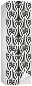 Kylskåpsdekor Seamless geometriskt mönster