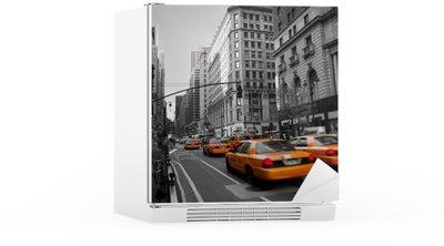 Kylskåpsdekor Taxibilar i Manhattan