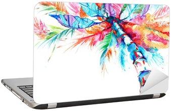 Laptop-Aufkleber Palme