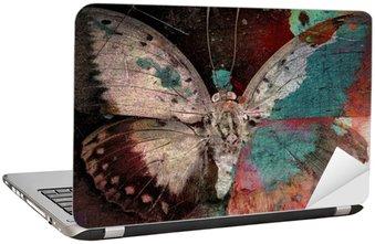 butterfly Laptop Sticker