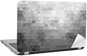 Mosaic background Laptop Sticker