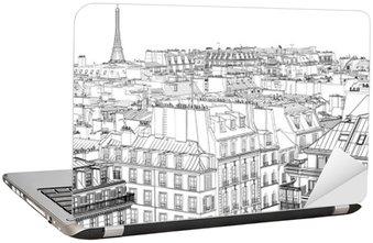roofs in Paris Laptop Sticker