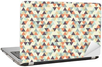 Laptop Sticker seamless geometric pattern
