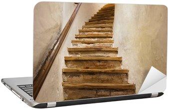 Stairs in Castle Kufstein - Austria Laptop Sticker