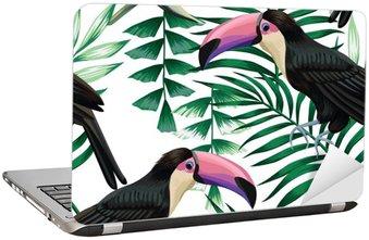 toucan tropical pattern