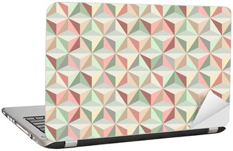 Triangle seamless pattern 1 Laptop Sticker