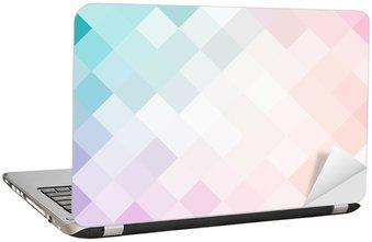 Laptopdekor Mosaik färgglada mönster