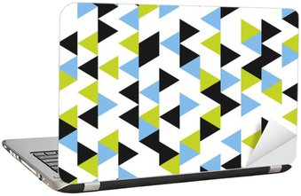 Laptopdekor Seamless geometriskt mönster