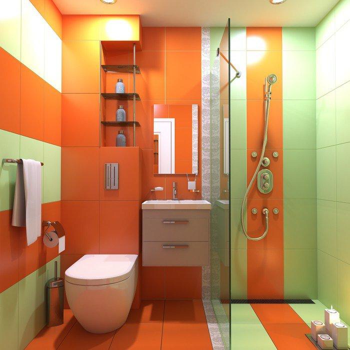 Obraz na Płótnie Łazienka wc umywalka wnętrze scena 3d render - Przemysł ciężki