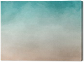 Leinwandbild Abstrakte Aquarell Textur