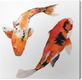 Leinwandbilder japanisch pixers wir leben um zu for Welche fische passen zu kois