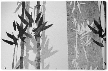 Leinwandbild Bamboo texture