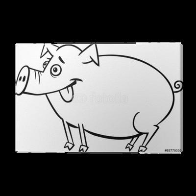 Großartig Drei Kleine Schweine Die Seite Färben Zeitgenössisch ...
