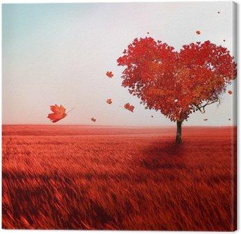 Leinwandbild Baum der Liebe