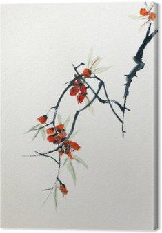 Leinwandbild Blooming sakura