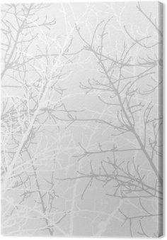 Leinwandbild Branchen-Textur-Muster. Weicher Hintergrund.