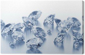 Leinwandbild Diamanten
