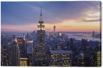 Leinwandbild Die stadt new york