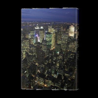 leinwandbild die stadt new york pixers wir leben um zu ver ndern. Black Bedroom Furniture Sets. Home Design Ideas